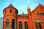 Old Red County Courthouse, historic governmental building, Museum, downtown