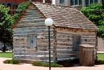 Dallas County Post Office building, first post office, landmark, Log Cabin, 1843