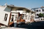 Crushed Car, Collapsed Apartment Building, Marina district, Loma Prieta Earthquake (1989), 1980s, DAEV01P11_03