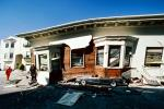 Crushed Car, Collapsed House, Marina district, Loma Prieta Earthquake (1989), 1980s, DAEV01P12_07