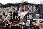 Fillmore Street, Marina district, Loma Prieta Earthquake (1989), 1980's, Fire Truck