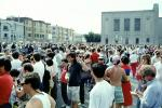 Crowds, People, Refugee Center, Marina district, Loma Prieta Earthquake (1989), 1980s, DAEV02P09_02