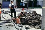 Workers, Workmen, Water Pipes, Marina district, Loma Prieta Earthquake (1989), 1980s, DAEV02P09_14