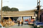 Cypress Freeway, pancake collapse, Loma Prieta Earthquake (1989), 1980s, DAEV02P11_07
