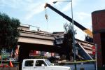 Crane, Cypress Freeway collapse, Loma Prieta Earthquake (1989), 1980s, DAEV02P12_02