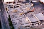 Shopping Center, Parking Structure, Northridge Earthquake Jan 1994, mall, Building Collapse