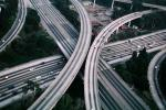 Stack Interchange, Interstate Highway I-10, Freeway, Northridge Earthquake Jan 1994, DAEV03P11_01