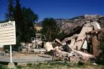 Hospital Collapse, Destroyed building, 1971 San Fernando Valley Earthquake, DAEV04P10_01