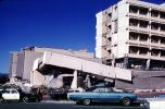 Car, building collapse, 1971 San Fernando Valley Earthquake, DAEV04P11_14