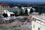 San Fernando Veterans Administration Hospital campus, building collapse, rubble, ruin, DAEV04P12_08