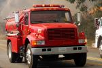 8792, Water Tanker, Truck, Wildland Fire, PCH, Pacific Coast Highway, DAFD03_269