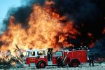 Mission Bay, San Francisco, Seagrave Truck, Fire Engine, Flames from hell, DAFV02P04_01