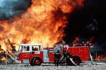 Mission Bay, San Francisco, Seagrave Truck, Fire Engine, Flames from hell, DAFV02P04_02