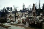 Home, Residential House, Hills, Charred, Great Oakland Fire, California, DAFV04P06_05