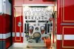 Control Panel, Dials, Gauge, American LaFrance, Fire Engine