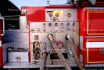 Control Panel, Dials, Gauge, American LaFrance, Potrero Hill, Fire Engine