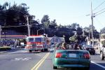US Highway-1, PCH, Fire Engine, Tam Junction, DAFV08P06_01