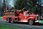 1960 Mack B85FSW, Triple combination pumper, Terry Rite Mack Engine, Crackers Fire Co., ladder, Selkirk New York, Formerly owned by Coeymans, 1960s, DAFV10P03_10