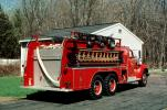 1960 Mack B85FSW, Triple combination pumper, Terry Rite Mack Engine, Crackers Fire Co., ladder, Selkirk New York, Formerly owned by Coeymans, 1960s, DAFV10P03_12