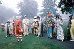 A meeting of clowns, 1960's