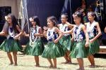 Hawaiian, Hawaii, Hula, ethnic costume, native, smiles, EDAV04P06_01