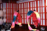 Ribbon Dancers, Chinese Dance, March 1973, 1970s