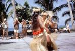 Hula Dance, Grass Skirt, December 1964, 1960s, EDAV04P11_09