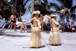 Hula Dance, Grass Skirt, December 1964, 1960s, EDAV04P11_10
