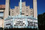 Seastar theater, Art-Deco, artdeco marquee, building