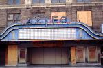 Theater Marquee, Aztec, building