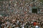JFK Stadium, Live Aid Benefit Concert, 1985, Philadelphia, Audience, People, Crowds, Spectators
