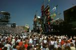 JFK Stadium, Live Aid Benefit Concert, 1985, Philadelphia, Audience, People, Crowds, Spectators, EMCV01P06_13