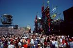 JFK Stadium, Live Aid Benefit Concert, 1985, Philadelphia, Audience, People, Crowds, Spectators, EMCV01P06_14