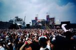 JFK Stadium, Live Aid Benefit Concert, 1985, Philadelphia, Audience, People, Crowds, Spectators, EMCV01P06_15