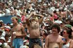 JFK Stadium, Live Aid Benefit Concert, 1985, Philadelphia, Audience, People, Crowds, Spectators, EMCV01P07_10