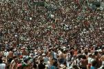 Audience, People, Crowds, Spectators, JFK Stadium, Live Aid Benefit Concert, 1985, EMCV01P07_13
