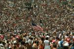 Audience, People, Crowds, Spectators, JFK Stadium, Live Aid Benefit Concert, 1985, EMCV01P07_14