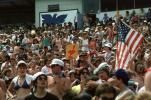 Audience, People, Crowds, JFK Stadium, Live Aid Benefit Concert, 1985, Philadelphia, Spectators, EMCV01P07_19