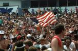Audience, People, Crowds, JFK Stadium, Live Aid Benefit Concert, 1985, Philadelphia, Spectators, EMCV01P08_01