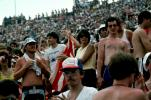 Audience, People, Crowds, JFK Stadium, Live Aid Benefit Concert, 1985, Philadelphia, Spectators, EMCV01P08_03