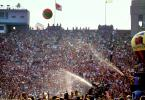 Water Spray, Audience, People, Crowds, JFK Stadium, Live Aid Benefit Concert, Philadelphia, Spectators, 1985, EMCV01P08_15