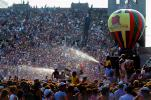 Water Spray, Audience, People, Crowds, JFK Stadium, Live Aid Benefit Concert, Philadelphia, Spectators, 1985, EMCV01P09_01