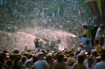 Water Spray, Audience, People, Crowds, JFK Stadium, Live Aid Benefit Concert, Philadelphia, Spectators, 1985, EMCV01P09_03