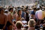 Audience, People, Crowds, JFK Stadium, Live Aid Benefit Concert, 1985, Philadelphia, Spectators, EMCV01P09_05