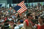 Audience, People, Crowds, JFK Stadium, Live Aid Benefit Concert, 1985, Philadelphia, Spectators, EMCV01P09_07
