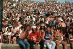 Audience, People, Crowds, JFK Stadium, Live Aid Benefit Concert, 1985, Philadelphia, Spectators, EMCV01P09_18