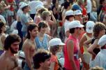 Audience, People, Crowds, JFK Stadium, Live Aid Benefit Concert, 1985, Philadelphia, Spectators, EMCV01P09_19