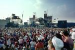Audience, People, Crowds, JFK Stadium, Live Aid Benefit Concert, 1985, Philadelphia, Spectators, EMCV01P10_07