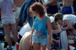 JFK Stadium, Live Aid Benefit Concert, 1985, Philadelphia, Audience, People, Crowds, Spectators, EMCV01P10_12
