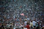 JFK Stadium, Live Aid Benefit Concert, 1985, Audience, People, Crowds, Spectators, EMCV01P10_19